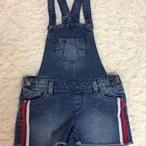 Arizona Jeans Girls Size 10 Regular Overalls